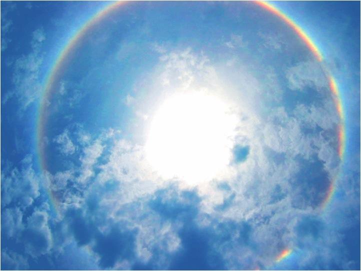 Ring Around The Sun Is A Corona